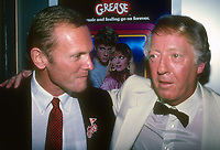 Tab Hunter and Robert Stigwood 1982<br /> Photo By Adam Scull/PHOTOlink /MediaPunch