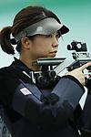 Maki Konomoto (JPN), <br /> AUGUST 20, 2018 - Shooting - Rifle : <br /> Women's 10m Air Rifle <br /> at Jakabaring Sport Center Shooting Range <br /> during the 2018 Jakarta Palembang Asian Games <br /> in Palembang, Indonesia. <br /> (Photo by Yohei Osada/AFLO SPORT)