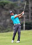 Mark Brown during the Charles Tour, Muriwai Open at Akarana Golf Course, Auckland, New Zealand, Sunday 9 April 2017.  Photo: Simon Watts/www.bwmedia.co.nz