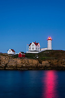 Nubble Lighthouse, Cape Neddick, York, Maine,  USA
