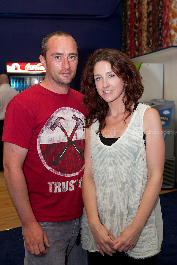 15/7/2011. Eamon Cunningham and Rebecca Hill are pictured at the opening of UCI Stillorgan. Picture Collins Photo Agency.