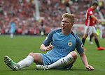 Kevin De Bruyne of Manchester City during the Premier League match at Old Trafford Stadium, Manchester. Picture date: September 10th, 2016. Pic Simon Bellis/Sportimage