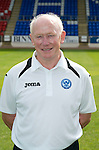 St Johnstone FC Season 2012-13 Photocall.Jocky Peebles, Asst Physio.Picture by Graeme Hart..Copyright Perthshire Picture Agency.Tel: 01738 623350  Mobile: 07990 594431