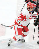 Holly Lorms (BU - 8) - The Boston University Terriers defeated the visiting Northeastern University Huskies 3-0 on Tuesday, December 7, 2010, at Walter Brown Arena in Boston, Massachusetts.