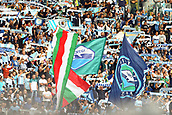 September 10th 2017, Olimpic Stadium, Rome, Italy; Serie A football league, Lazio versus AC Milan;   Fans of Lazio with banners and flags