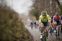 Baptiste Planckaert (BEL/Wallonie-Bruxelles)<br /> <br /> 74th Nokere Koerse 2019 <br /> One day race from Deinze to Nokere / BEL (196km)<br /> <br /> ©kramon