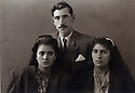 Iran 1949. In the middle, Ahmed Ghassemlou with, left,his sister and right , his niece<br />