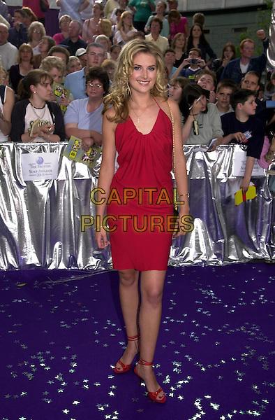 SARAH DUNN.25/05/2001: London.The British Soap Awards 2001.Copyright: Phil Loftus/Capital Pictures.*please credit all uses*.sales@capitalpictures.com.www.capitalpictures.com..
