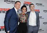 www.acepixs.com<br /> <br /> August 3 2017, LA<br /> <br /> (L-R) Channing Tatum, Jenny Slate and Joseph Gordon-Levitt arriving at the premiere of Amazon's 'Comrade Detective' at the ArcLight Hollywood on August 3, 2017 in Hollywood, California<br /> <br /> By Line: Peter West/ACE Pictures<br /> <br /> <br /> ACE Pictures Inc<br /> Tel: 6467670430<br /> Email: info@acepixs.com<br /> www.acepixs.com