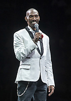 12 April 2017  - Charlie Murphy dies following a battle with leukemia. Charles Quinton Murphy was an American actor, comedian, voice artist, and writer. Murphy was known as a writer and cast member of the Comedy Central sketch-comedy series Chappelle's Show. He was the older brother of Eddie Murphy. File Photo: 18 September 2015 - Pittsburgh, PA - Comedy Get Down Tour held at Consul Energy center.<br /> CAP/ADM/JN<br /> &copy;JN/ADM/Capital Pictures