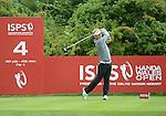 Søren KJELDSEN in action during todays round<br /> <br /> Golf - Day 2 - ISPS Handa Wales Open 2013 - Twenty Ten Course- Friday 30th August 2013 - Celtic Manor Resort  - Newport<br /> <br /> © www.sportingwales.com- PLEASE CREDIT IAN COOK