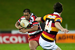 Under 16 Rugby game between Counties Manukau and Waikato, played at Bayer Growers Stadium Pukekohe on Friday September 4th 2009..Counties Manukau won the game.