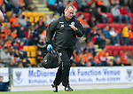 St Johnstone v Dundee United....01.09.12      SPL  .Saints physio John Kerr.Picture by Graeme Hart..Copyright Perthshire Picture Agency.Tel: 01738 623350  Mobile: 07990 594431