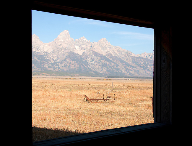 Mormon Row. Teton National Park.