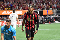 Atlanta, GA - August 3, 2019. Atlanta United FC defeated L.A. Galaxy, 3-0, in a match played at Mercedes-Benz Stadium, in front of a crowd of an MLS single-match record crowd of 72,548.