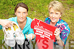 ON THE RUN: Athea sisters, Emma and Denise Mullane who are running in the Flora Mini-Marathon in Dublin next Monday to raise funds for Our Lady's Hospital for Sick Children.