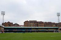 A general view of the Frank Walton stand during the Sky Bet League 1 match between Southend United and Fleetwood Town at Roots Hall, Southend, England on 13 January 2018. Photo by Carlton Myrie.