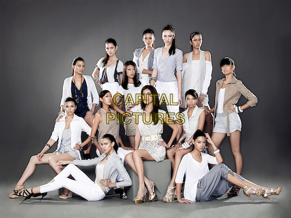 Supermodelme (2009 - )<br /> (Season 1)<br /> The models and judges<br /> *Filmstill - Editorial Use Only*<br /> CAP/KFS<br /> Image supplied by Capital Pictures