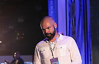 SAO PAULO, SP - 12.02.2019 - CAMPUS PARTY - O prefeito de São Paulo, Bruno Covas participa de cerimônia de abertura oficial da Campus Party Brasil nesta terça-feira (12) Expo Center Norte na zona norte de Sao Paulo.<br /> <br /> <br /> (Foto: Fabricio Bomjardim / Brazil Photo Press / Folhapress)
