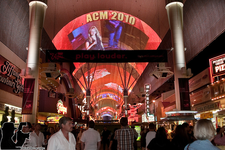 ACM Party on Fremont Street Featuring Miranda Lambert Fremont Street Experience, FSE, ACM, awards, music