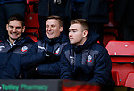 Former blades Academy player Connor Hall (r) during the Championship match at Bramall Lane Stadium, Sheffield. Picture date 30th December 2017. Picture credit should read: Simon Bellis/Sportimage