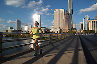 Austin Joggers & Runners - Healthy Running Lifestyle Stock Photo Image Gallery