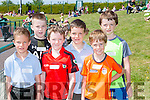 Kenmare runners at the County Primary schools athletics championships in An Riocht Castleisland on Saturday l-r: Robbie Guest, Darragh Hanley, Rossa MacGearailt, Charlie Guest, David O'Brien and Fiachra Wall