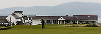 Richard Knightly (Royal Dublin) on the 3rd green during Round 3 of The West of Ireland Open Championship in Co. Sligo Golf Club, Rosses Point, Sligo on Saturday 6th April 2019.<br /> Picture:  Thos Caffrey / www.golffile.ie