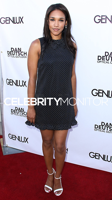 BEVERLY HILLS, CA, USA - JUNE 28: Actress Candice Patton arrives at the Genlux Magazine Summer 2014 Issue Release Party held at the Luxe Hotel on June 28, 2014 in Beverly Hills, California, United States. (Photo by Xavier Collin/Celebrity Monitor)