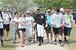 Ichiro Suzuki (Marlins),<br /> FEBRUARY 25, 2015 - MLB :<br /> Ichiro Suzuki of the Miami Marlins shakes hands with a fan during the Miami Marlins spring training camp in Jupiter, Florida, United States. (Photo by AFLO)