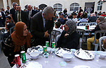 Palestinian Prime Minister Mohammad Ishtayeh attends Ramadan break fast in an iftar celebration in the West Bank city of Bethlehem, on June 1, 2019. Photo by Prime Minister Office