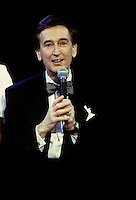 """Montreal (Qc) CANADA -Nov 1992 File Photo -<br /> <br /> Bob McGrath.<br /> <br /> Robert Emmet """"Bob"""" McGrath (born June 13, 1932 in Ottawa, Illinois) is an American singer and actor best known for playing the human character """"Bob"""" on Sesame Street.<br /> <br /> Along with Susan, played by Loretta Long, Bob has been one of the two longest lasting human characters on the series. A Noggin segment proclaimed """"the four decades of Bob"""" when promoting Sesame Street on that network.<br /> <br /> McGrath has said that his two favorite moments on """"Sesame Street"""" were a spoof of The Gift of the Magi on a Christmas special, and the 1983 sequence that candidly addressed the death of longtime character Mr. Hooper, played by actor Will Lee who had died the previous year.[1]<br /> <br /> Bob's character has a long-lost brother named Minneapolis, an Indiana Jones-like action hero (played by Jeff Goldblum) who took Bob on a search for the golden cabbage of """"Snuffertiti"""" with Big Bird and Snuffleupagus.<br /> <br /> -Photo (c)  Images Distribution"""