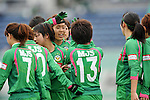 NTV Beleza Team Group ,.APRIL 22, 2012 - Football/Soccer : 2012 Plenus Nadeshiko League,2nd sec match between NTV Beleza 3-0 AS Elfen Sayama FC at Komazawa Olympic Park Stadium, Tokyo, Japan. (Photo by Jun Tsukida/AFLO SPORT) [0003]