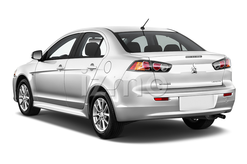 Car pictures of rear three quarter view of 2016 Mitsubishi Lancer ES-CVT 4 Door Sedan Angular Rear