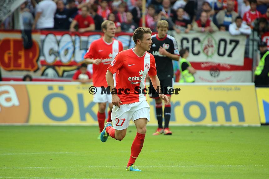 Nicolai Mueller (Mainz) - 1. FSV Mainz 05 vs. Bayer 04 Leverkusen, Coface Arena, 6. Spieltag