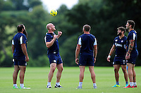 Matt Garvey of Bath Rugby. Bath Rugby pre-season training session on August 9, 2016 at Farleigh House in Bath, England. Photo by: Patrick Khachfe / Onside Images