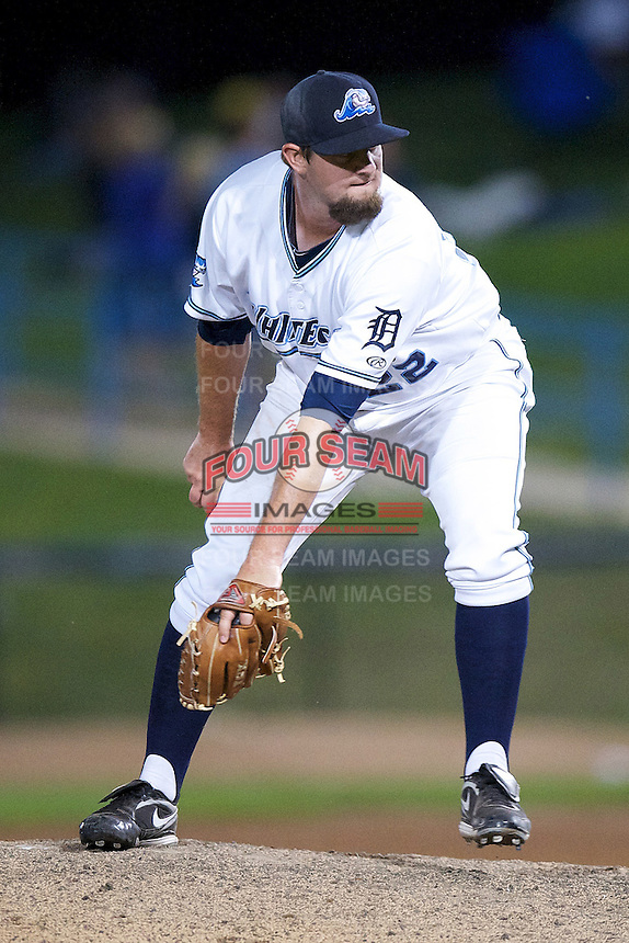 West Michigan Whitecaps Dan Bennett #22 during a game against the Bowling Green Hot Rods at Fifth Third Ballpark on June 26, 2012 in Comstock Park, Michigan.  West Michigan defeated Bowling Green 13-11.  (Mike Janes/Four Seam Images)