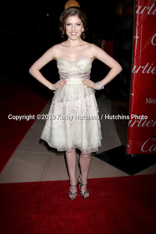 Anna Kendrick.arriving at the 2010 Palm Springs Film Festival Awards Gala.Palm Springs Convention Center.January 5, 2010.©2010 Kathy Hutchins / Hutchins Photo.