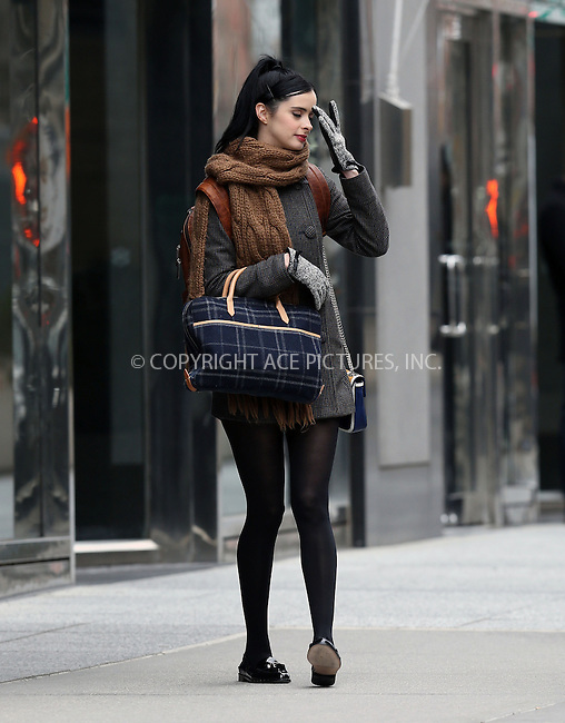 WWW.ACEPIXS.COM....March 26 2013, New York City....Actress Krysten Ritter on the set of the new movie 'Assistance' on March 26 2013 in New York City.......By Line: Philip Vaughan/ACE Pictures....ACE Pictures, Inc...tel: 646 769 0430..Email: info@acepixs.com..www.acepixs.com