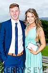 Enjoying the Colaiste na Sceilge Debutante Ball at Ballyroe Heights Hotel on Tuesday were Keelan Moriarty and Alannah O'Sullivan