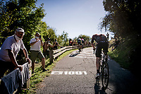 Eddie Dunbar (IRE/INEOS) up the brutal Muro di Sormano (avg 17%/max 25%)<br /> <br /> 114th Il Lombardia 2020 (1.UWT)<br /> 1 day race from Bergamo to Como (ITA/231km) <br /> <br /> ©kramon