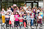 at Killorglin Library on Saturday morning Cllr Norma Foley, Mayor of Kerry, presented certificates to the children who participated in the Summer Stars book reading program.