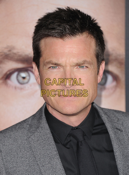 "Jason Bateman.The World Premiere of ""Identity Thief"" held at The Mann VillageTheater in Westwood, California, USA..February 4th, 2013  .headshot portrait shirt black  grey gray  .CAP/DVS.©DVS/Capital Pictures."