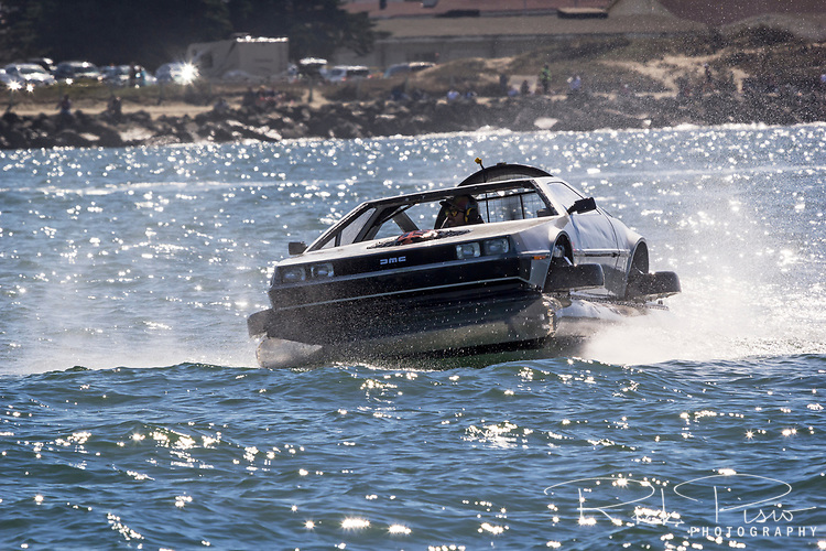 Delorean on San Francisco Bay