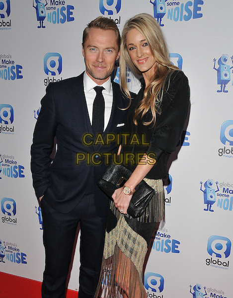 Ronan Keating &amp; Storm Uechtritz attend the Global Radio's Make Some Noise Night Gala, Supernova, Embankment Gardens, London, England, UK, on Tuesday 24 November 2015. <br /> CAP/CAN<br /> &copy;CAN/Capital Pictures
