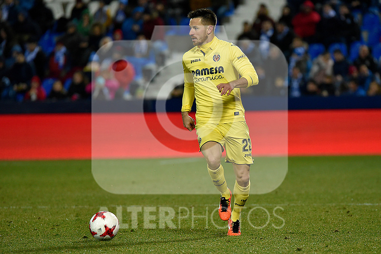 Leganes vs Villarreal Antonio Rukavina during Copa del Rey match. 20180104.