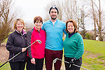Sheila McCarthy, Mary Savage, John Dowling and Mairead McAuliffe at the St brendans Hurling club Golf Classic at Ardfert Golf Club on Saturday