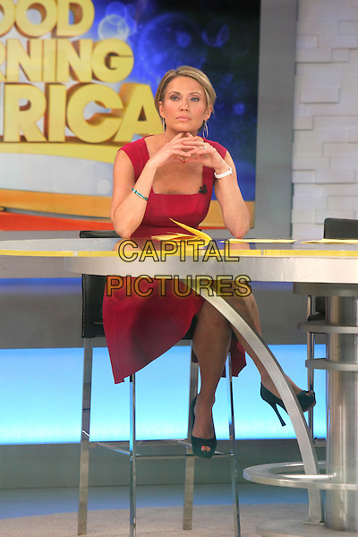 NEW YORK, NY - MAY 29: Amy Robach at ABC's Good Morning America in New York City on May 29, 2014.  <br /> CAP/MPI/RW<br /> &copy;RW/ MediaPunch/Capital Pictures