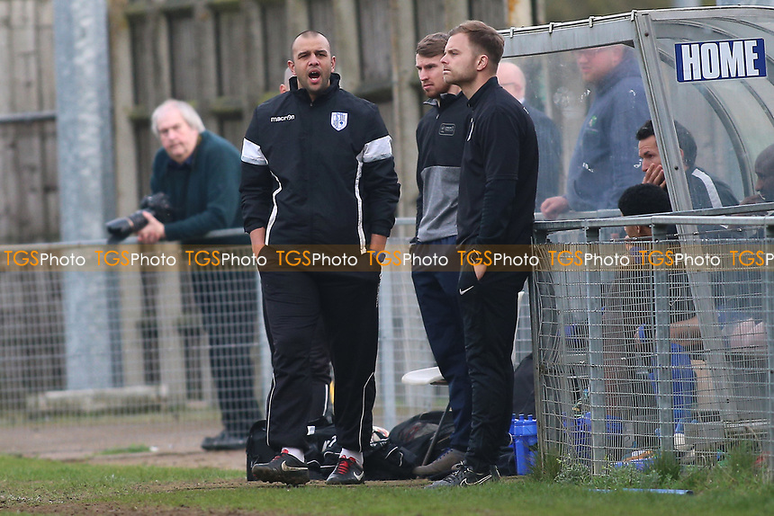 Ware manager Anwar Uddin during Ware vs AFC Hornchurch, Ryman League Division 1 North Football at Wodson Park on 11th March 2017