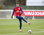 England's John Stones in action during training at Tottenham Hotspur training centre, London. Picture date November 14th, 2016 Pic David Klein/Sportimage
